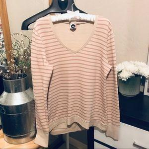 2/ $20 Roxy stripped sweater